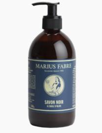 Zwarte schoonmaakzeep - Marius Fabre
