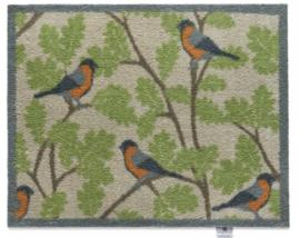Deurmat  Vogels