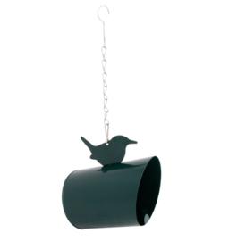Vogelpindakaaspothouder metaal
