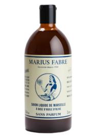 Marseillezeep geurloos  navulfles 1l. - Marius Fabre