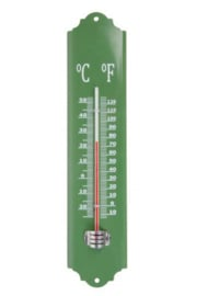 Thermometer groen