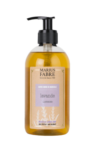 Lavendelzeep met pompje - Marius Fabre