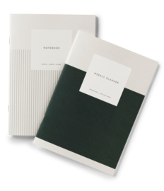 Kartotek - Weekly Planner & Notebook - large