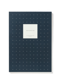 Kartotek - Soft cover, Bullet Journal, donker blauw