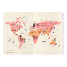 Ohh deer - Travel planner - Soft cover