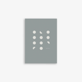 Kartotek - Pocket Notebook - Grey