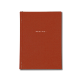 Kartotek - MEMORIES JOURNAL - Hard cover