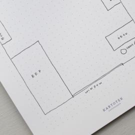 Kartotek - Memo pad - dot grid