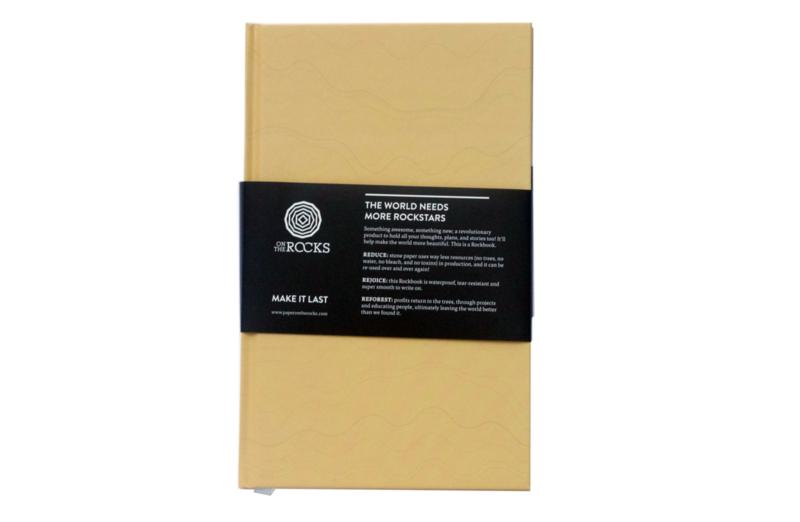 Rockbook - Tan - Hard cover - Notebook
