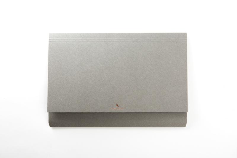 Kunisawa - File case, set van 3, grijs