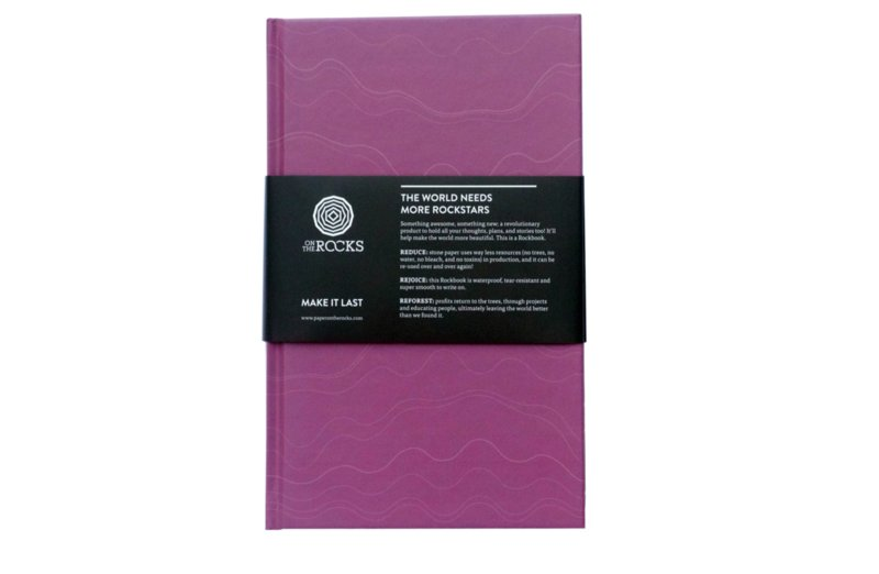 Rockbook - Orchid - Hard cover - Notebook