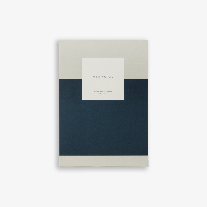 Kartotek - Writing Pad - Navy