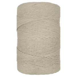 Hearts single twist 4.5 mm light brown(500m)