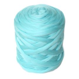 XXL lontwol pastel aqua 500 gram