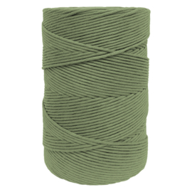 Hearts single twist 4.5 mm olive (500m)