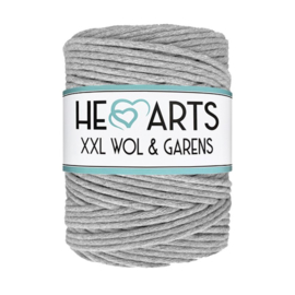 Hearts single twist 4.5 mm grey (200m)