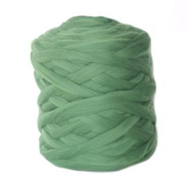XXL lontwol smaragd