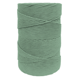 Hearts single twist 4.5 mm sagegreen (500m)