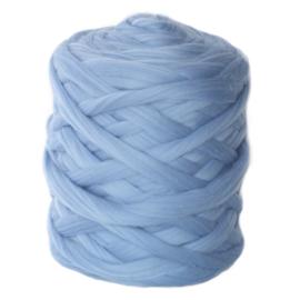 XXL lontwol baby blue