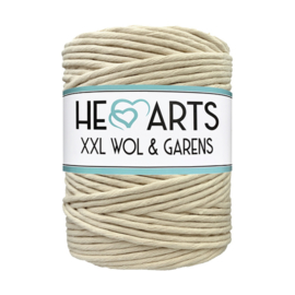 Hearts single twist 4.5 mm sand (200m)