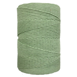 Hearts single twist 4.5 mm agave green (500m)