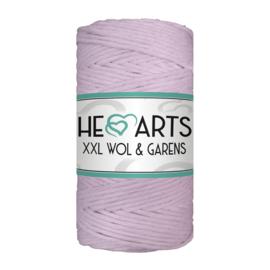 Hearts single twist 3 mm lavendel
