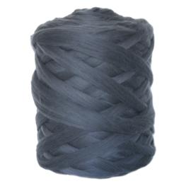 XXL lontwol grafiet grijs 500 gram