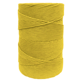 Hearts single twist 4.5 mm greenmustard (500m)
