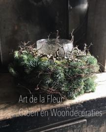 DIY pakket grote Kersttulband 55 cm incl alle materialen