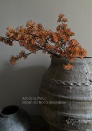 Robuust Orange kunsttak  90 cm