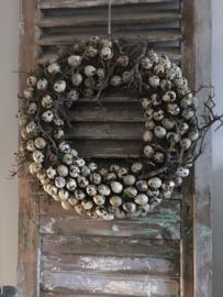 Mooie Paaskrans met Bonsai 45 cm