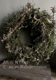 Krans met Asparagus ong 60 a 65 cm