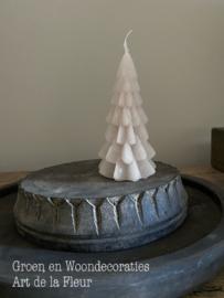 Kerstboom xs linnen 6.3 x12 cm