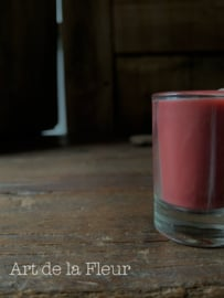 Votive candle red set 6