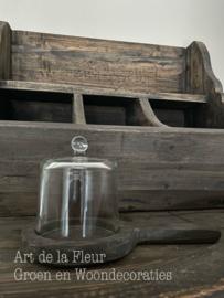 Glazen stolpje S  9.0 x  11.5 cm