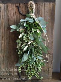 Dadel toef met Eucalyptus , Steeneik en Dadels  50 cm