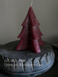 Tree Candle  Red M 12 x 9.5