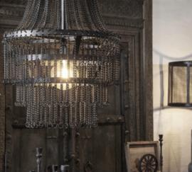 Landelijk metalen hanglamp Katie
