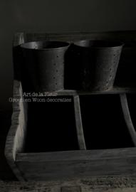 Iron Pottery  mini potje Aura Peeperkorn 7 x 7