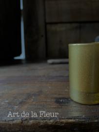 Votive candle gold set 6