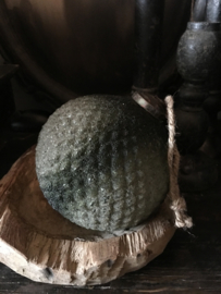 Diamond ball subtiel groen 13 cm