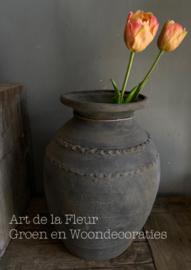 Silk Flower Peach 41 cm