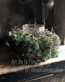 Kerst tulband 45 cm
