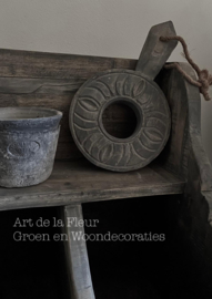 Houten sleutel / ornament Aura Peeperkorn E