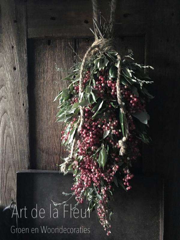 Groentoef met Pepperberries 50 cm