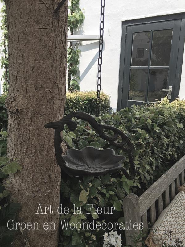 Vogelvoederhanger gietijzer