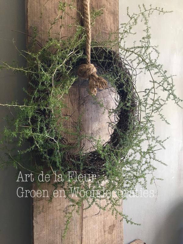 Salim , Asparagus kransje 35 cm doorsnede
