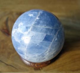Blauwe Calsiet bol 5.1 cm