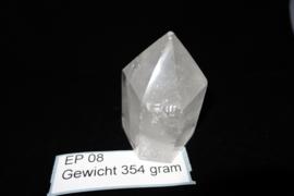 Bergkristal punt 196  gram