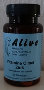 Vitamine C 300 kauwbaar met zink    60 tabletten